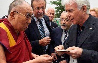 Cronache Indiane di Carlo Buldrini, incontro Dalai Lama