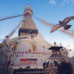 La mia nuova vita in Nepal, stupa