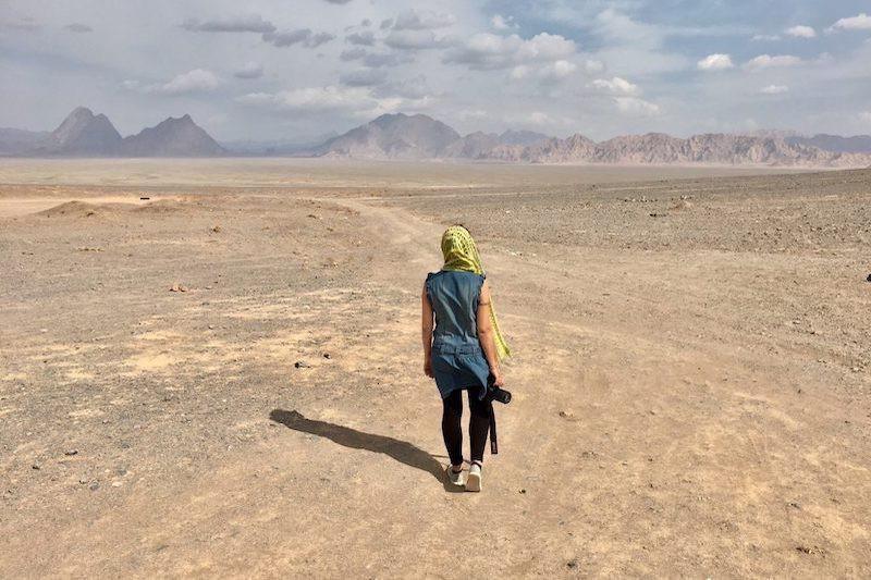 Persia la culla del mondo, deserto