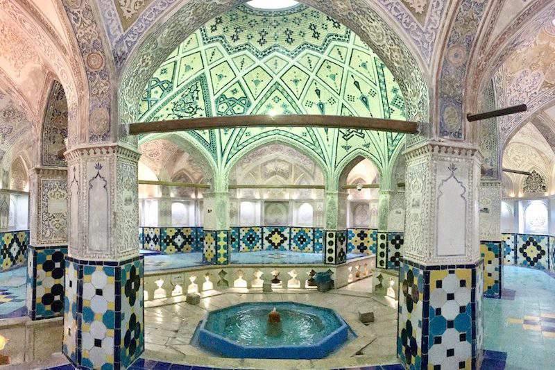 Persia palazzo fontana