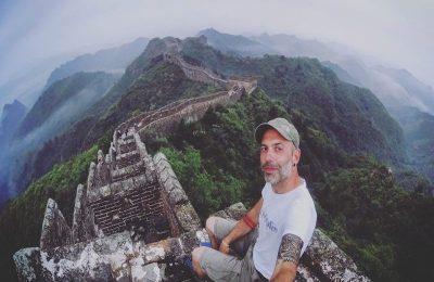 Wanderhang un viaggio dentro al mondo, muraglia cinese
