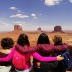 Zingarelle on the road Monument Valley