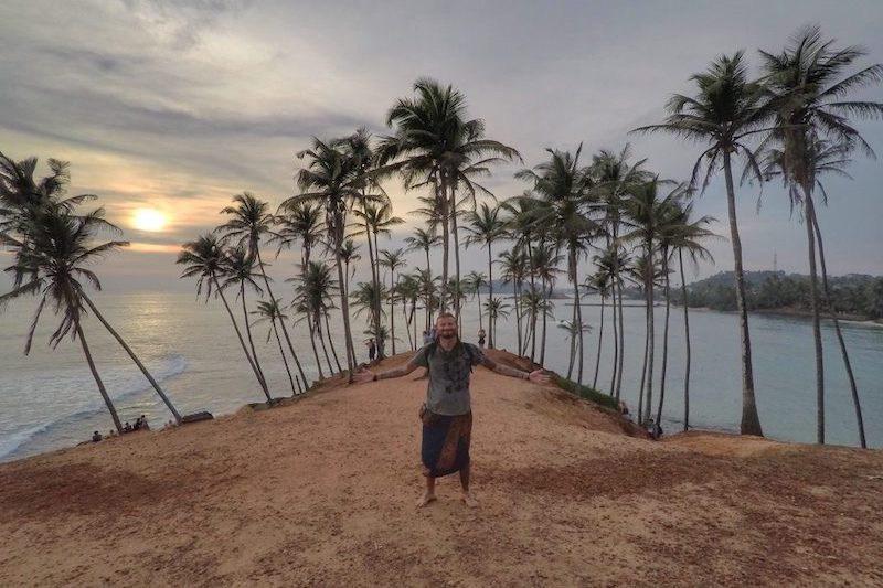 Carlo Taglia latcho drom, Sri Lanka