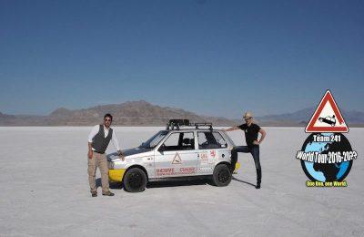 Team 241 il giro del mondo Fiat Uno