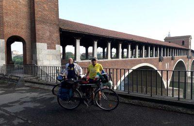 In bici lungo i fiumi d'Europa Pavia