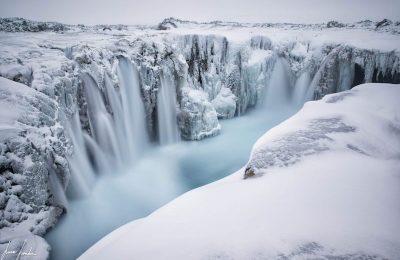 Alla scoperta dell'Artico cascate
