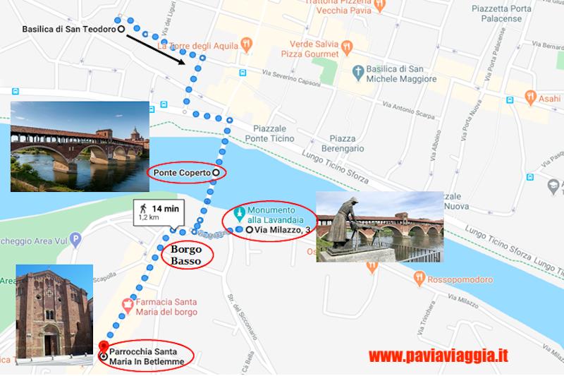 cosa vedere a Pavia: Ponte Coperto
