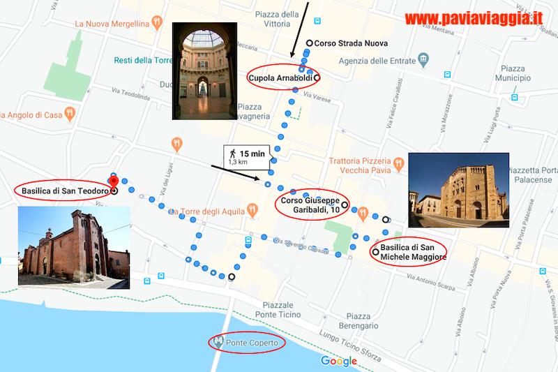 itinerario Pavia: San Michele
