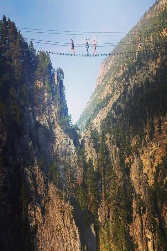 Ponti tibetani in Italia ponte cesana
