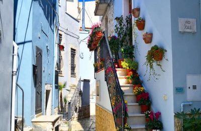 Casamassima la città blu italiana